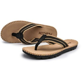 [Kg8d] サンダル メンズ 25.0cm フラットサンダル トングサンダル カーキ オフィス ビーチサンダル トングサンダル アイランドスリッパ メンズ コンフォートサンダル カジュアル オフィス 指付き 立ち仕事 紳士靴 トング スリッパ