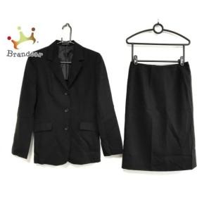 イネド INED スカートスーツ サイズ11 M レディース 黒 新着 20190809【人気】