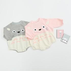本日限定の大特価 赤ちゃんのアニメは、トトロの長袖 純綿 カバー ゆったり 哈衣 連体の服 出産祝い 子供服 かわいい プレゼント