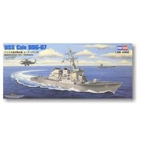 童友社 1/700 アメリカ海軍駆逐艦コールDDG-67