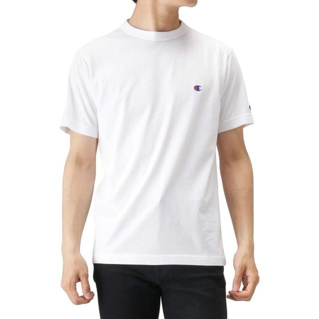 Champion(チャンピオン) プリントTシャツ 半袖Tシャツ クルーネック C3-P300 メンズ ホワイト:M