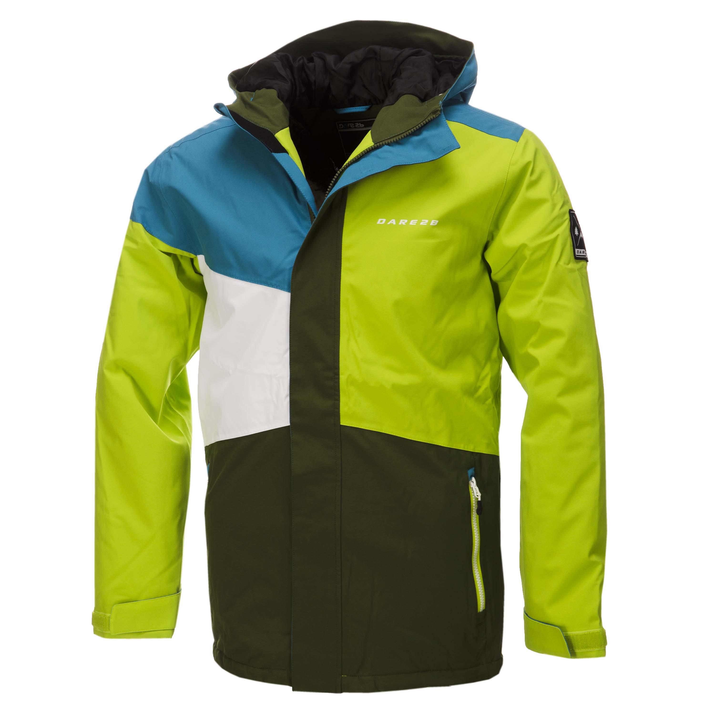 台南悠活運動家》DARE2B 英國 賈斯多彈性透氣滑雪外套 萊姆綠 DMP310