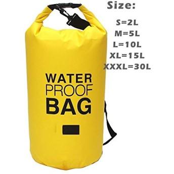 2L/5L/10L/15L/20L/30L 屋外防水バッグドライバッグ電話ポーチウエストバッグセット水泳漂流ラフティング川トレッキングバッグ