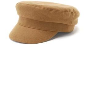 【公式/NATURAL BEAUTY BASIC】ベーシックキャスケット/女性/手袋・帽子/キャメル/サイズ:FR/(表生地)ポリエステル 94% レーヨン 6%(裏生地)ポリエステル 87% コットン 13%