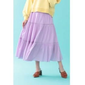 【JILL by JILL STUART:スカート】コットンティアードスカート