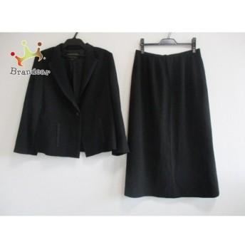 レリアン Leilian スカートスーツ サイズ13+ S レディース 美品 黒 新着 20190809