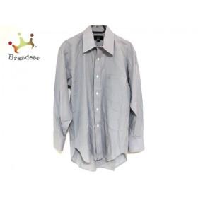 ダンヒル dunhill/ALFREDDUNHILL 長袖シャツ サイズ38-78 メンズ 美品 ブルー×白 チェック柄 新着 20190809