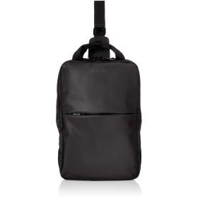 [アネロ] 2層構造 ボディバッグ NESS AT-C2548 ブラック One Size