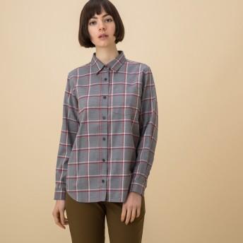 AIGLE レディース HEATHER GREY (104) シャツ・ポロシャツ