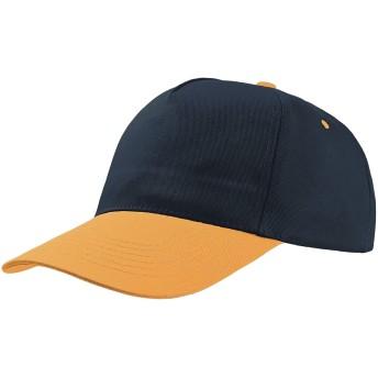 (アトランティス) Atlantis ユニセックス Start Five 5パネル キャップ 帽子 (ワンサイズ) (ネイビー/イエロー)