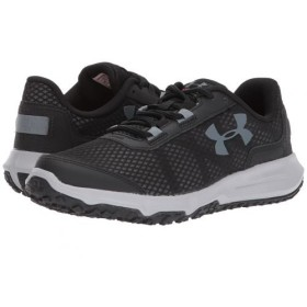 Under Armour(アンダーアーマー) レディース 女性用 シューズ 靴 スニーカー 運動靴 Toccoa - Black/Overcast Gray/Gravel 8.5 B - Medium [並行輸入品]