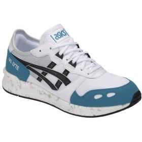 [アシックス タイガー] Hyper Gel Lyte White Teal Blue 1191A017-101 Sneaker Shoes Schuhe Herren Men