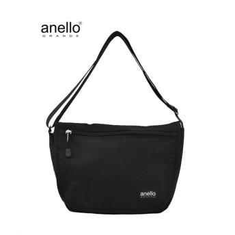 anelloGRANDE(アネログランデ)杢調フラップショルダーバッグ ショルダーバッグ・斜め掛けバッグ, Bags, 鞄