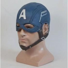 1ピース/ロットハロウィンマスクアベンジャーズキャプテンアメリカフルヘッドマスクヘルメット用男性のコスプレ spider