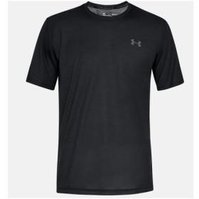 アンダーアーマー UNDER ARMOR メンズ トレーニング Tシャツ 半袖 UA スレッドボーン ショートスリーブ 1325029 001 BLK/GPH