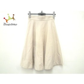 ダイアグラム Diagram GRACE CONTINENTAL スカート サイズ36 S レディース ベージュ  値下げ 20191105