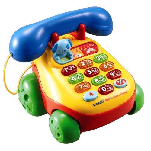 Vtech 歡樂學習電話 Pull 'n Learn Phone【麗兒采家】