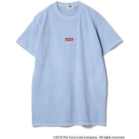 【ビームス メン/BEAMS MEN】 Coca Cola / Pigment Front Logo T-shirt