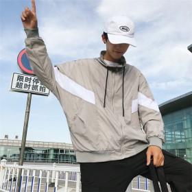[55555SHOP] 男らしさがランクアップ!メンズファッション 韓国風 スポーツウェア トレンドのハンサム メンズ トップス ジャケット