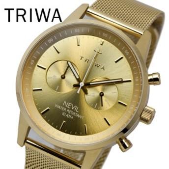 トリワ TRIWA 腕時計 ユニセックス NEST104 ME021313 GOLD NEVIL 2.0 プレゼント 贈り物 ギフト フォーマル ペアウォッチ 北欧