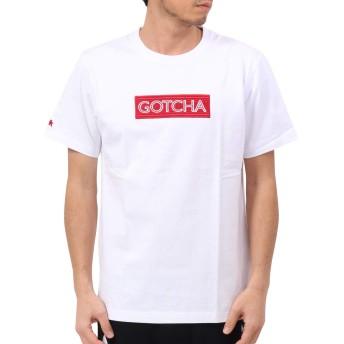 [ガッチャ] GOTCHA Tシャツ オルテガ BOXロゴ TEE 192G1021 ホワイト XXL