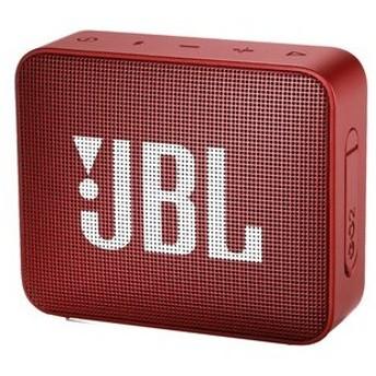 JBL JBLGO2RED ウォータープルーフ対応Bluetoothスピーカー GO2 レッド