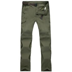 トレッキングパンツ 登山 パンツ ウェア アウトドア ロングパンツ 通気速乾 ストレッチ ズボン 短ショット パンツ 2way 取り外し 2088