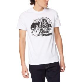 [ボルコム] [メンズ] 半袖 プリント Tシャツ (アジアンFIT)[ AF3219G2 / Apac CA S/S Tee ] おしゃれ ロゴ WHT_ホワイト US XL (日本サイズXL相当)