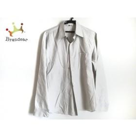 アニエスベー agnes b 長袖シャツ サイズ3 L メンズ ライトグレー 新着 20190809