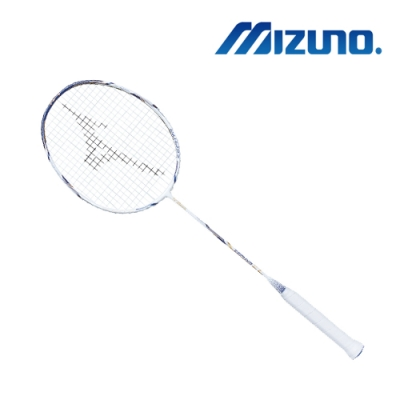 Mizuno ZEPHYR ZL 羽球拍 白x藍x銀 73MTB90701