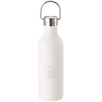 キャプテンスタッグ モンテ ハンガーボトル480○UE3422 ホワイト お弁当箱・水筒