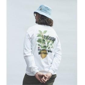 [マルイ] メンズTシャツ(SKIN / スキン PLANT PRINT ロングTシャツ)/ジャーナルスタンダード レリューム(メンズ)(JOURNAL STANDARD relume)