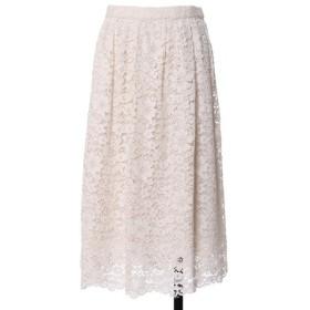 [マルイ]【セール】《Maglie White》デイジーレースギャザースカート/ef-de(エフデ)(ef-de)