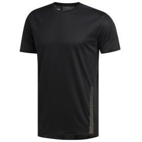【300円OFFクーポン発行中】 アディダス adidas メンズ ランニング Tシャツ 半袖 25/7 ParleyTシャツM GHM60 EI6321 ブラック 【2019FW】