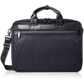 [エースジーン] ビジネスバッグ デイバイドリム A4 13inchPC対応 セットアップ ショルダーベルト付 ネイイビー