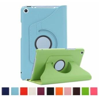 HUAWEI MediaPad M5 lite 8.0インチ/T5 8.0通用360度回転保護レザーケース/JDN2-L09/JDN2-W09用3段階スタンド調整保護カバー収納ポーチ手