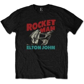 ELTON JOHN エルトンジョン (映画『ロケットマン』公開記念) - Rocketman Piano/Tシャツ/メンズ 【公式/オフィシャル】