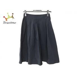 エストネーション ESTNATION スカート サイズ36 S レディース 美品 ダークネイビー   スペシャル特価 20191123