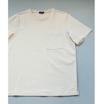 URBAN RESEARCH ITEMS / アーバンリサーチ アイテムズ コットン天竺クルーネックポケTシャツ
