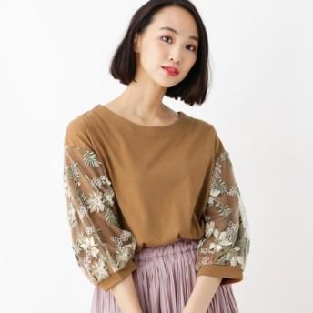 [マルイ] 刺繍×チュールプルオーバー/グローブ(grove)