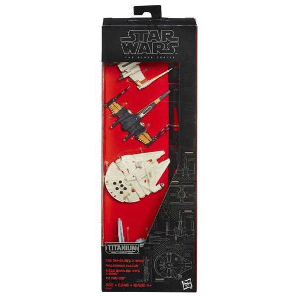 【孩之寶流行玩具】星際大戰電影7 - 黑標合金交通工具禮盒組 B3826