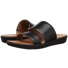 [FitFlop(フィットフロップ)] レディースサンダル・靴 Delta Slide Sandals Black US 7 (24cm) M (B) [並行輸入品]