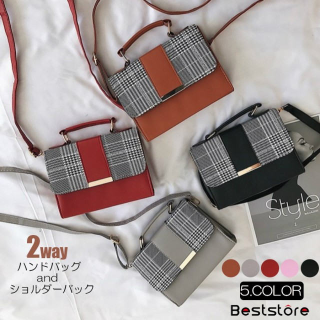 ショルダーバッグ - Beststore レディースファッション通販 ショルダーバックハンドバッグ斜め掛けカバン通勤レディースショルダーバックハンドバッグ韓国ファッションチェック