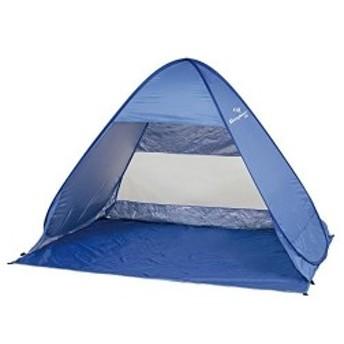 キャプテンスタッグ テント シャイニーリゾート ポップアップ テント UV M ブルー UA-14