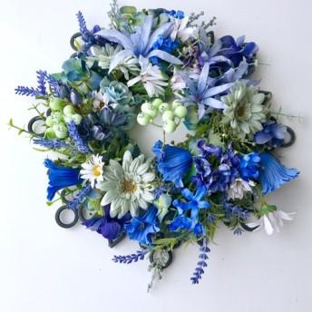 Iron wreath Blue