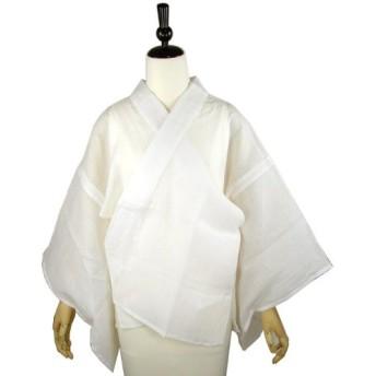 本麻半襦袢 麻半襟付き M L LLサイズ M 着付け小物 和装 肌着 下着 夏用 涼しい