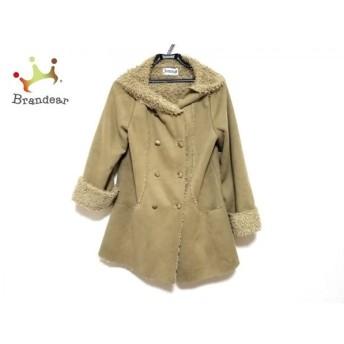 ホコモモラ JOCOMOMOLA コート サイズ40 XL レディース 美品 ベージュ 冬物 新着 20190809