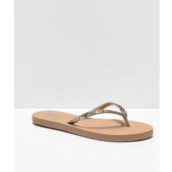リーフ REEF レディース サンダル・ミュール シューズ・靴 Reef Stargazer Tan Sandals Beige/khaki