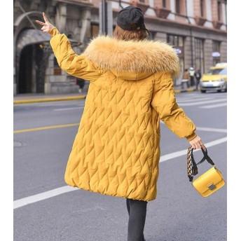 【韓国ファッションNo.1 】秋冬新品/綿入れダウンコート/フード付きジャケット/防寒 大きいサイズ 暖かい /超お得