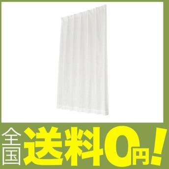 ユニベール ミラーレースカーテン ブラットレース ホワイト 幅100×丈198cm 2枚組
